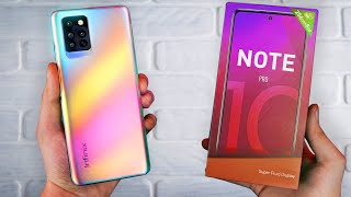 Infinix Note 10 Pro MAGIC COLORS - Unboxing & First Look!