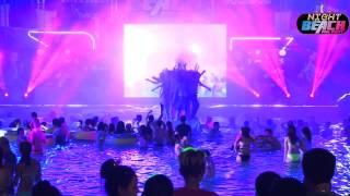 Ngiht Beach Pool Party 2014 full