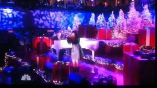 Charice @ NBC Jingle Bell Rock Christmas tree lighting