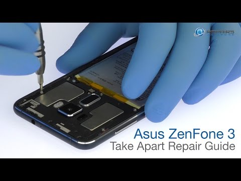 Asus ZenFone 3 Take Apart Repair Guide - RepairsUniverse Mp3