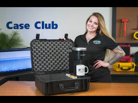 Case Club Waterproof Portable Coffee Station with Keurig & 2 Mugs - Featured Youtube Video