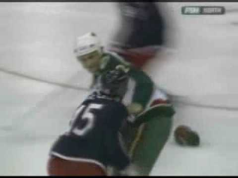 Derek Boogaard vs. Jody Shelley