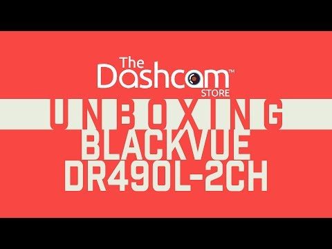 DR490L-2CH Unboxing by The Dashcam Store™