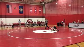 138 lb. | Nicholas Bunch (Concord, NH) vs. Josh Rebane (Pinkerton Academy, NH)