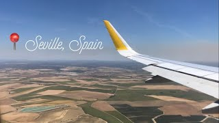 First Time Flying Vueling | Barcelona to Seville, Spain