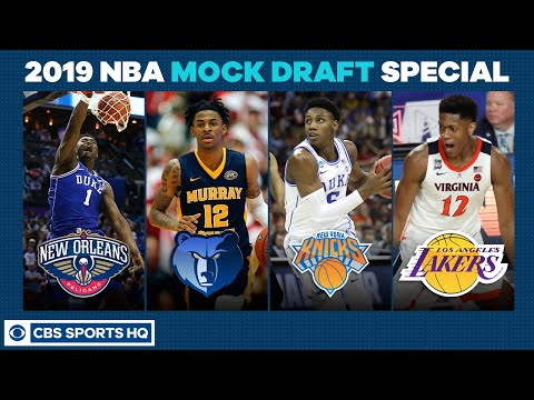 RJ Barrett to the KNICKS? | 2019 NBA Mock Draft Special | CBS Sports HQ