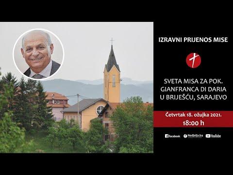 Sveta misa za pok. Gianfranca di Daria u Briješću