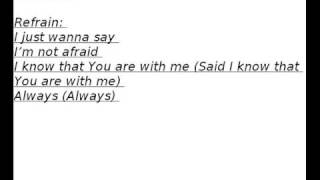 Israel Houghton - Just Wanna Say Lyrics