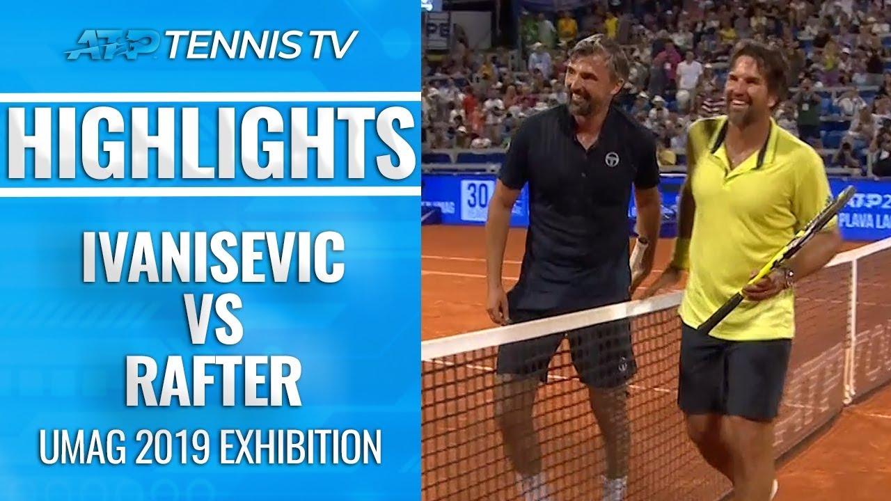 Легенды тенниса провели выставочный матч на турнире в Хорватии (ВИДЕО)