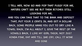 Lil Wayne Ft. Drake ~ She Will (Lyrics On Screen)
