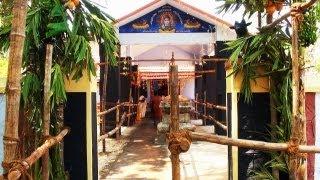 Sivalaya Ottam at Pannippagam Sri Kirathamurthi temple, Kanyakumari