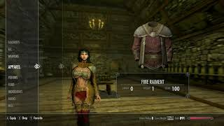 Skyrim (mods) - Charity - Creating a Nephilim Appearance using UNP Mods - Part 2 - Clothes