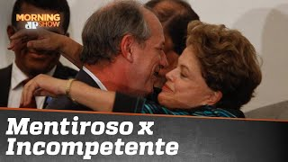 Acabou o amor: Dilma e Ciro batem boca na internet