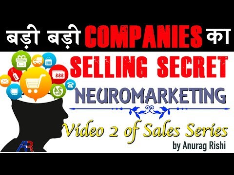 Sales and Marketing | How to use Neuromarketing to SELL MORE | #AnuragRishi