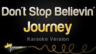 Journey   Don't Stop Believin' (Karaoke Version)