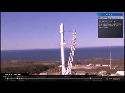 SpaceX удачно запустила и посадила ракету Falcon 9
