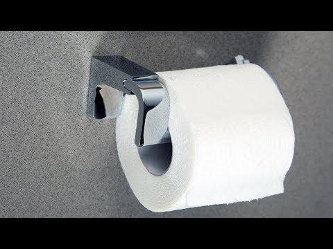 Держатель для туалетной бумаги  youtube