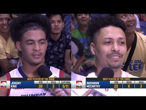 Best Players: Jerramy King and Rashawn McCarthy | PBA Commissioner's Cup 2018