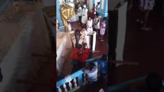 Festa De São Benedito 2015, Comunhão Cantada Pelo Coral São José.