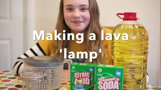 How to make a 'Lava Lamp' at home
