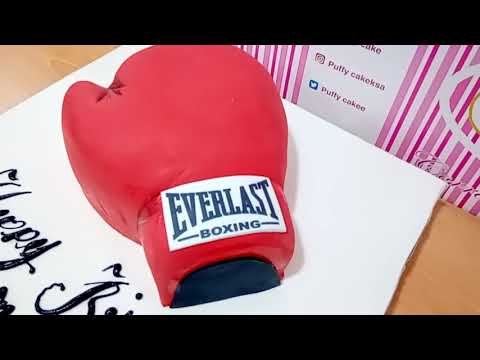 Boxing Gloves Cake, Design - Howto & Style