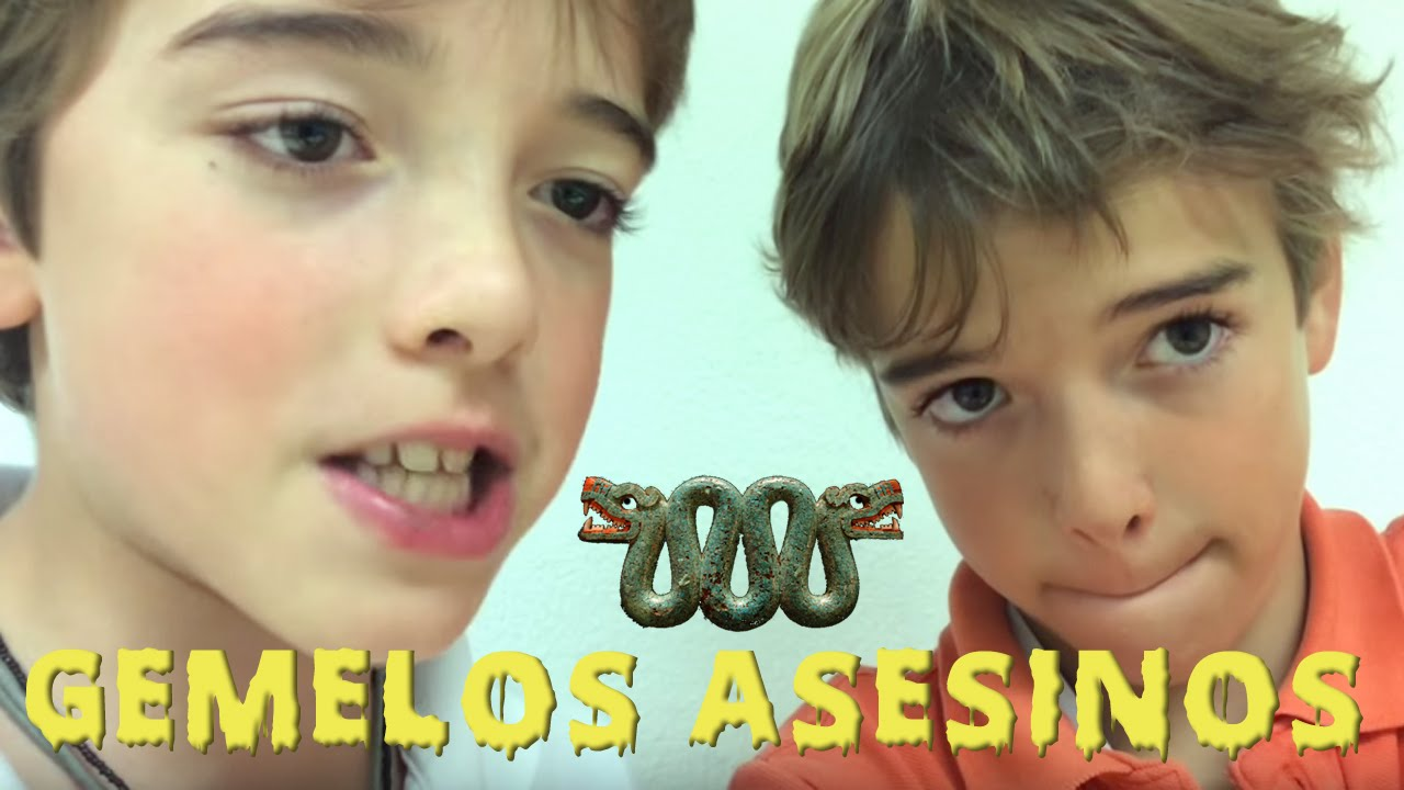 Cine para niños - Gemelos Asesinos - Kids Work - Pequeños Cineastas - Kids In Black