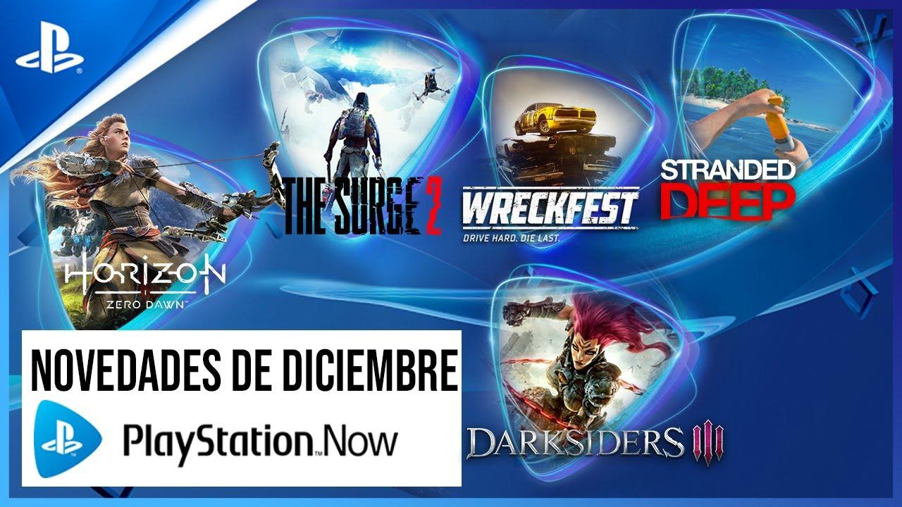 Horizon Zero Dawn, Stranded Deep y Broforce son tus juegos de PS Now de diciembre