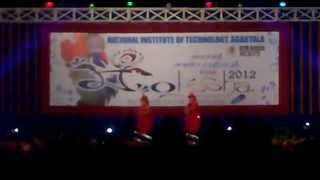preview picture of video 'NIT Agartala - Moksha 2012 - The Diverse Culture of India - 4 - The Rajasthani Culture'