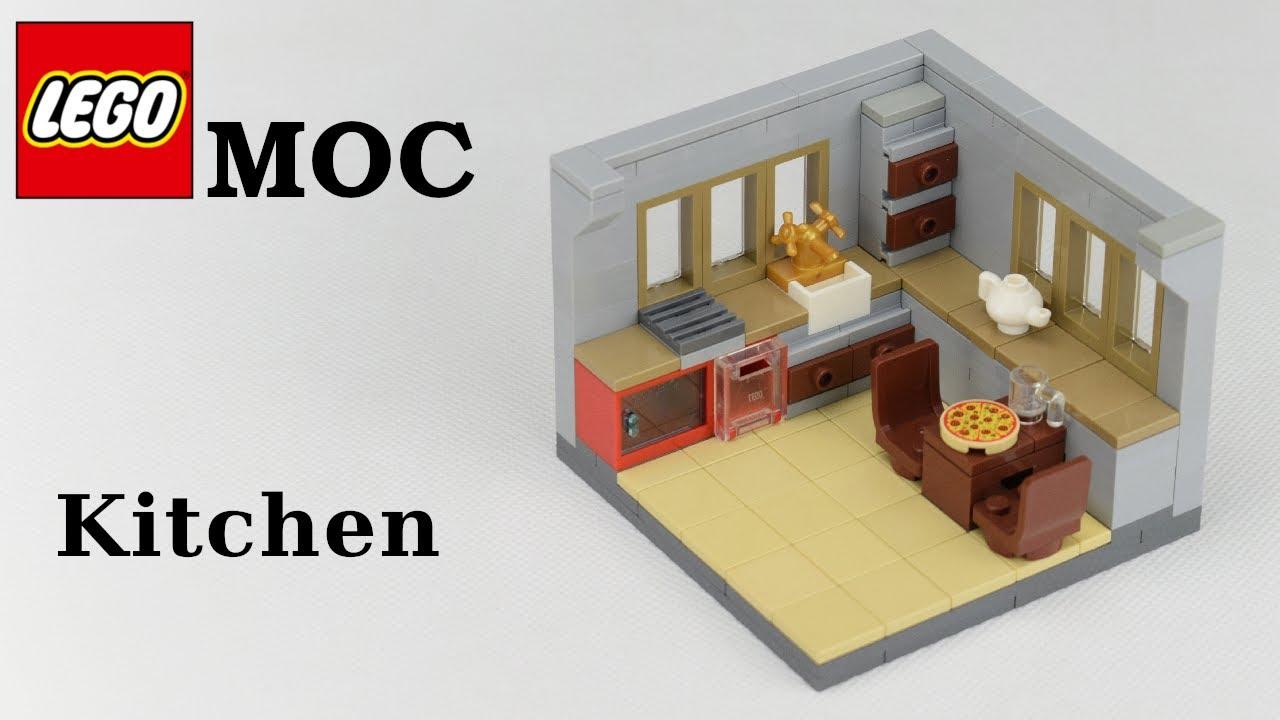 Lego MOC - Kitchen