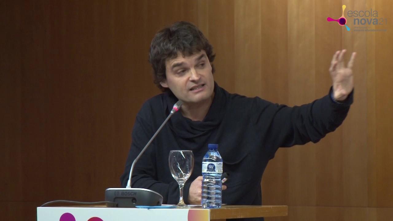 David Pérez - Presentació del programa Escola Nova 21