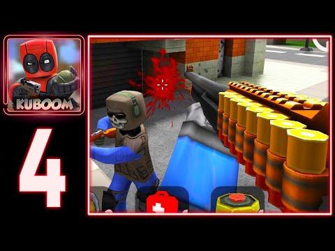 Kuboom - NOVA Damage Shotgun Using Weapon