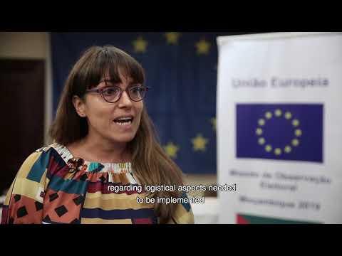 MOE UE Moçambique 2019: Formação dos observadores de longo-prazo em Maputo