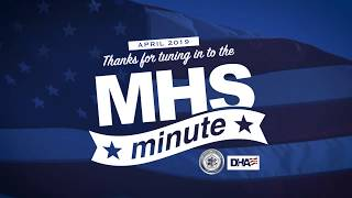 MHS Minute - April 2019