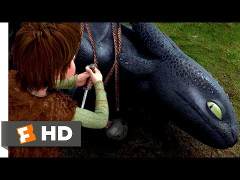 Download How to Train Your Dragon (2010) - Freeing The Night Fury Scene (1/10) | Movieclips HD Mp4 3GP Video and MP3