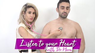 How to Listen To Your Heart Using A Stethoscope ❤️🏥 | Doctor Explains