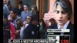 C5N  EL ADIOS A NESTOR KIRCHNER PERSONALIDADES EN EL FUNERAL /PARTE 2