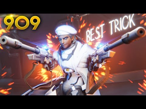 BEST ANA **SECRET** TRICK By ML7!! | Overwatch Daily Moments Ep. 909 (Funny and Random Moments)