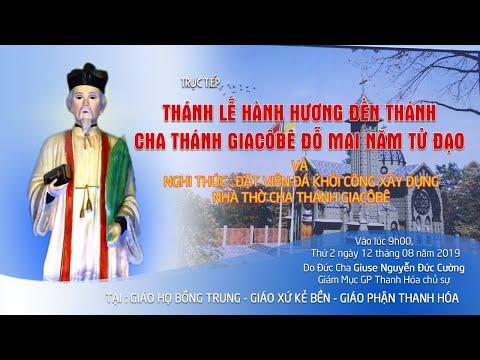 video thanh le hanh huong va dat vien da khoi cong xay dung den thanh giacobe do mai nam