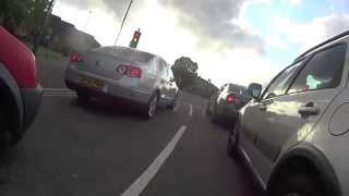 preview picture of video 'Cyclist hit by car in Derby'