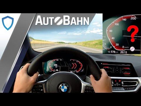 BMW G21 320d Touring - Autobahn | Vmax | GPS