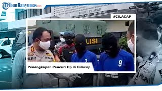 Dua Penjambret HP Tertangkap di Cilacap, Terancam 9 Tahun Penjara