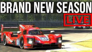 iRacing - Trying To Survive My First Official Races In The New LMP2