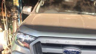 FORD Rangerรถใหม่นำ้เข้าเครื่อง น้ำมันเครื่องเข้ามน้ำต้องดูครับช่วยกันดู