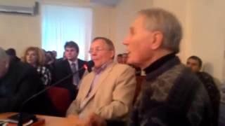 Рыбников Ю С  Выступление в общественной палате Москвы
