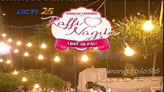 Gambar cover pernikahan raffi ahmad dan nagita slafina di BALI