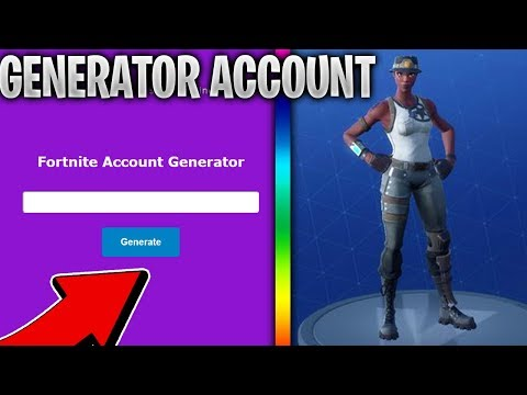 So I Tried Fortnite Account Generator This Happened
