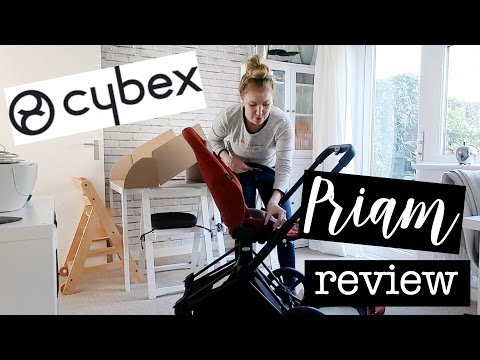 Cybex Priam Review, Tutorial and Unboxing