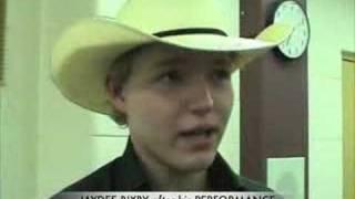 JAYDEE BIXBY, AARON LINES and SAM COOK in FERGUS, ON