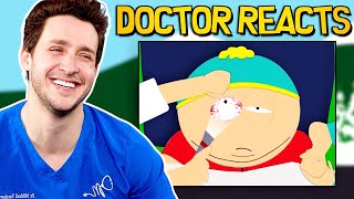 Doctor Reacts To Hilarious South Park Medical Scenes