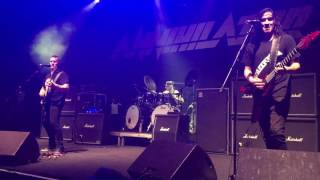 "Annihilator performs ""Second to None"" live in Athens @Piraeus 117 Academy, 28.10.2016"